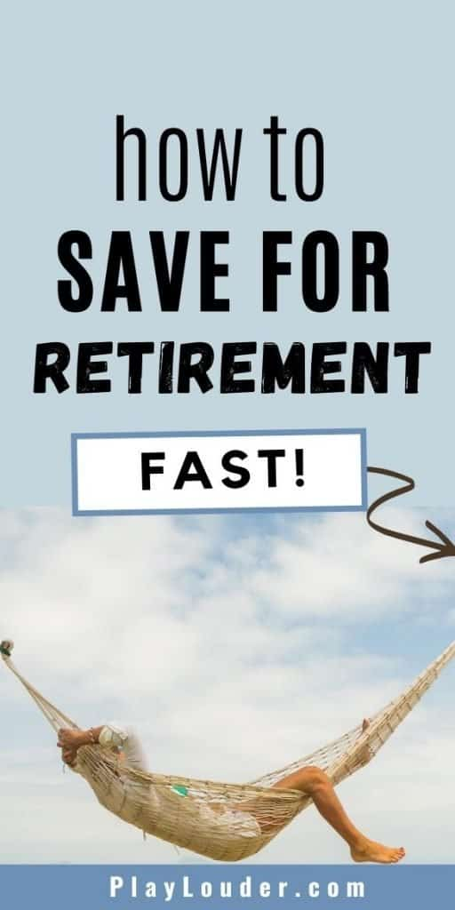 Want to retire early? Check out how to save for retirement fast with these easy money saving tips! #FIRE #financialindependence #retireearly #savemoney