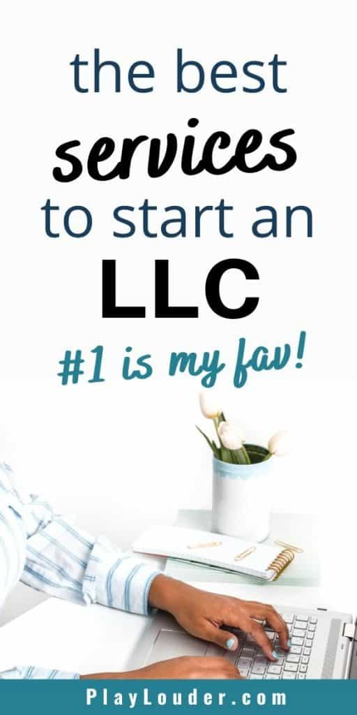 Check out the best business services to help you start a business and start an LLC. The best business tips for small business owners #businesstips #business #smallbusiness #LLCtips